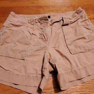 J. Crew city fit khaki shorts